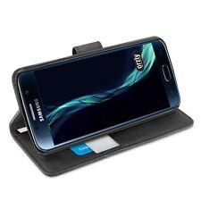 Samsung Galaxy S7 Mulifuncional Billetera Estuche Cubierta por Orzly-Negro