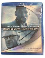 Enemy of the State (Blu-ray Disc, 2006) Will Smith Gene Hackman Tony Scott