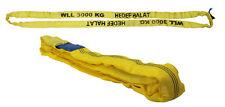 Rundschlinge Hebeschlinge Hebe band mit Einfachmantel 3 Tonnen 4 Meter