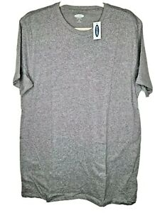 Old Navy Men's Medium Gray Soft-Washed Short Sleeve T-Shirt Size Large Tall