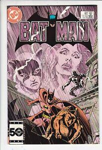 Batman # 389 NM+ (9.6) Catwoman. DC. White pages