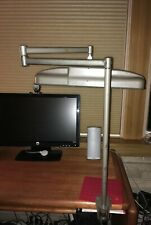 Burton Scientific Lighting Professional Equipment Clamp-on Desk Lamp Swing Arm
