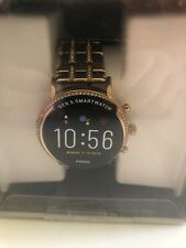 Fossil Gen 5 Carlyle Stainless Steel Touchscreen Smartwatch DW10F1 FTW6035 A-27