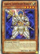 Yu-Gi-Oh - 2x Garoth, Lightsworn Warrior - SDLI - Realm of Light