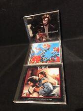 Rush Soundtrack Eric Clapton CD LOT YARDBIRDS UNPLUGGED NEW RARITIES
