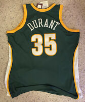2XL NEW MITCHELL&NESS NBA SEATTLE SUPERSONICS DURANT 2007-08 AUTHENTIC JERSEY
