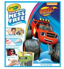 CRAYOLA COLOR WONDER MESS FREE~BLAZE AND THE MONSTER MACHINES~INCLUDES 18PGS~NEW