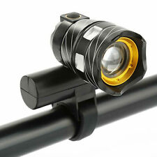 XM-L T6 LED Luz de Bicicleta de Montaña Bici Bicicleta Delantera Faro USB Recargable