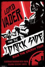 Star Wars- Darth Vader Darkside Tour Poster Print, 24x36