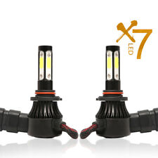 2Pcs Car 9005 HB3 LED Headlight Bulbs 4-Sides Chip Light  6500K 72W 16000LM