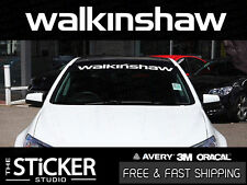WALKINSHAW Performance windshield Sticker Vinyl suit Holden VL VE VF HSV LS2