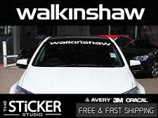 WALKINSHAW Performance windsheild Sticker Vinyl suit Holden VL VE VF HSV LS2
