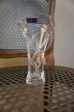 Marquis Waterford Crystal Vase Collectible small geometric flower