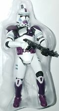 "Star Wars CLONE TROOPER 3.75"" Figure Mace Windu's Purple 187th Attack Battalion"