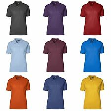 Cotton Blend Collared Short Sleeve Tops & Shirts for Women