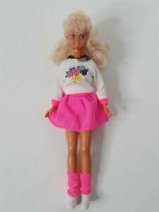 Barbie Skipper Twist n Turn Teen Fashion Doll Mattel 1987 Babysitter Outfit