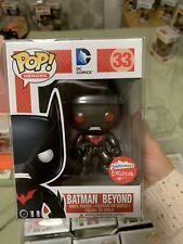 Funko Pop FugitiveToys Exclusive DC Comics METALLIC BATMAN BEYOND MINT w/ case