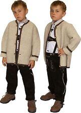 warme Strickjacke Jacke Kinder mit Wolle  Trachten St. Peter Trachten
