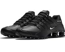 Brand New Nike Shox NZ Running Shoes Black 501524-091 SIZE 12 Dead Stock
