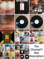 """Reggae Dancehall Compilation Vinyl Album LP Collection 12"""" 33RPM"""