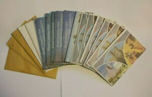 Canada 1968 - 1984 Mint Sealed Brilliant Uncirculated Coin Sets