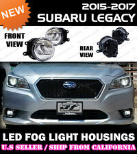 15 16 17 SUBARU LEGACY B4 BN9 LED Fog Light Replacement Housings Lamps (PAIR)