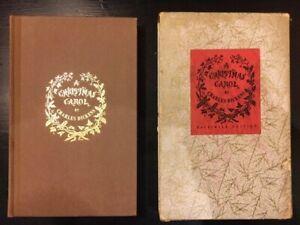 Vintage Book - A Christmas Carol - 1956