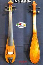 "fancy Pochette SONG brand Mini violin 7 3/4"",good sound #11824"