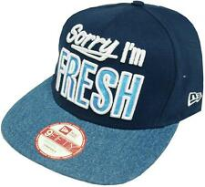 NEW Era FRESH infill Blue Snapback Cap S-M CAPPUCCIO 9 FIFTY Basecap Uomo Mens