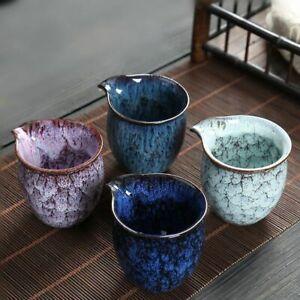 Ceramic Tea Filter Cup Chinese Kung Fu Teaware 200mL Portable Pitcher Coffee Mug