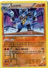 pokemon HOLO STERN KARTE in REVERS 64/99 LUCARIO 100 HP B&W 4 NEXT DESTINIES