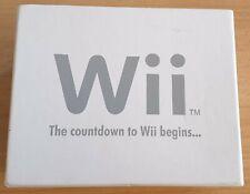[NINTENDO] • limitierte Wii Armbanduhr • THE COUNTDOWN TO WII BEGINS../ Gamecube