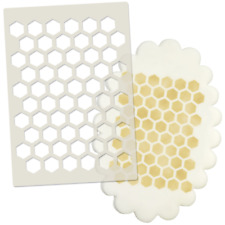 Honeycomb Cake & Cupcake Stencil - Decorating Tool