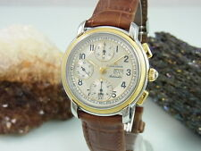 MAURICE LACROIX MASTERPRICE CHRONOGRAPH AUTOMATIK DAY DATE SATHL / 18K GOLD
