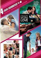 4 Film Modern Romances Collection: The Notebook/Crazy Stupid Love/Life as We...