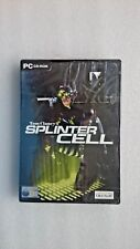 Tom Clancy's Splinter Cell (PC: Windows, 2003) - NEW and SEALED