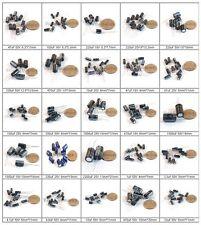 Assorted Through Hole Electrolytic Capacitor 1uF~2200uF 25Value 50V 25V 16V