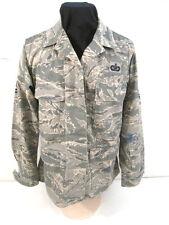 USAF Tiger Stripe Camouflage Woman's Combat BDU Coat Jacket or Shirt Size 10 Reg