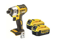 DeWalt XR Lithium Ion Brushless Impact Driver 18v DCF886 + 2 DCB182 4.0a Battery
