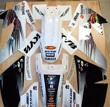 Pit Bike Honda Crf 50 Graphics w/plastics  N-style Troy white plastics