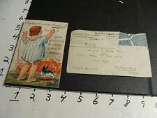 1920's Barcelona post card with scenes under girls dress, very odd