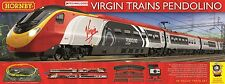 Hornby R1155 Virgin Pendolino 4 Car Train Set Latest DCC Ready Version Courier P