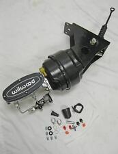66-77 Ford Bronco Polished Wilwood Master Cylinder Power Booster Prop Valve Kit