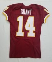 #14 Ryan Grant of Washington Redskins NFL Game Issued Jersey