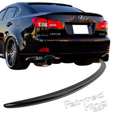 Painted FOR Lexus IS250/IS350 OE TYPE REAR TRUNK SPOILER WING SEDAN ABS 212