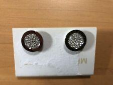 Michael Kors Pave Circle Earrings -