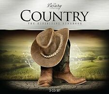 COUNTRY-LUXURY TRILOGY 3 CD NEU JOHNNY CASH/FARON YOUNG/LYNN ANDERSON/JOAN BAEZ