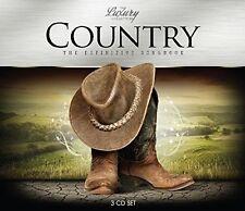 COUNTRY-LUXURY TRILOGY 3 CD NEU JOHNNY CASH/FARON YOUNG/LYNN ANDERSON/JOAN BAEZ