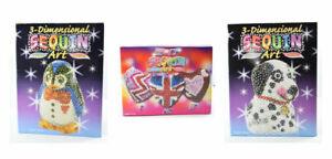 KSG 3D Sequin Art Kits - Full Range Available