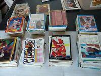 Sports Card Lot 800 Cards Baseball Football Basketball Hockey Late 80s Early 90s